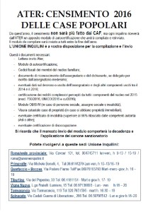 manifesto censimento
